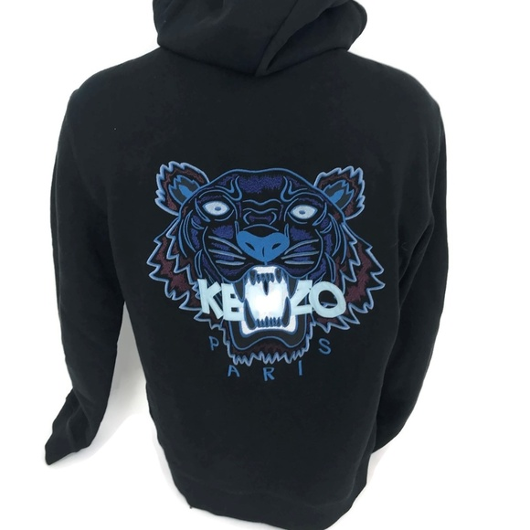 Kenzo Other - Kenzo Paris Men s Hooded Zipper Tiger Sweatshirt M 6e4d69e70d9b